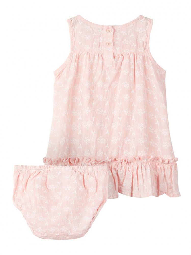 5d3658e2 Name it, Nbffairy baby rosa kjole med truse - Knerten og Karoline ...